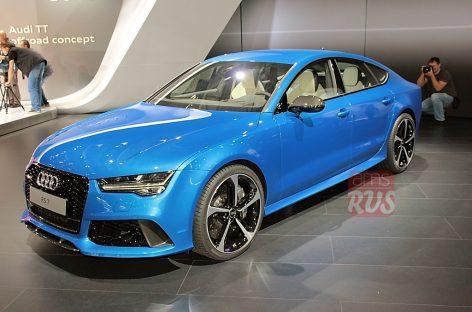 Audi RS7 Sportback — самый быстрый из хэтчбеков