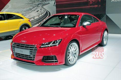 Audi TT с хищным взглядом
