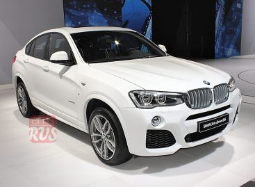 BMW X4 — достойный выбор амбициозных и успешных молодых людей