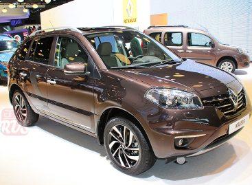 Renault Koleos подался в спорт