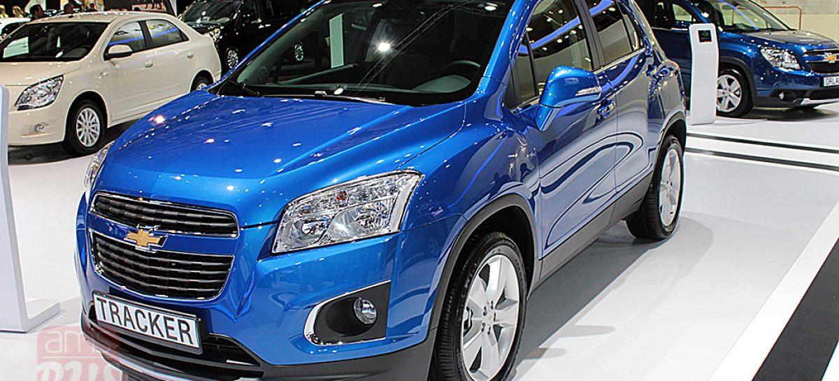 Новый компактный кроссовер Chevrolet Tracker