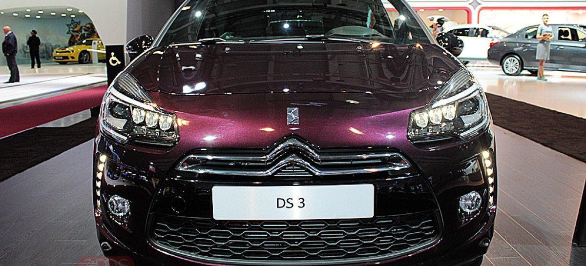 Citroen DS 3 с задними светодиодными огнями с эффектом 3D