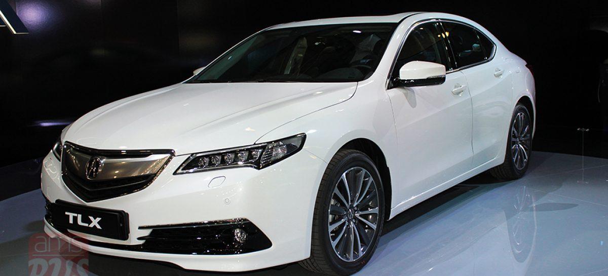 Acura TLX — премиальный седан с богатым технологическим оснащением