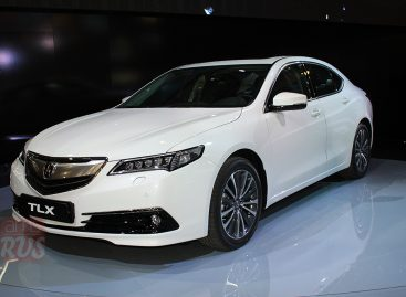 Acura TLX – премиальный седан с богатым технологическим оснащением