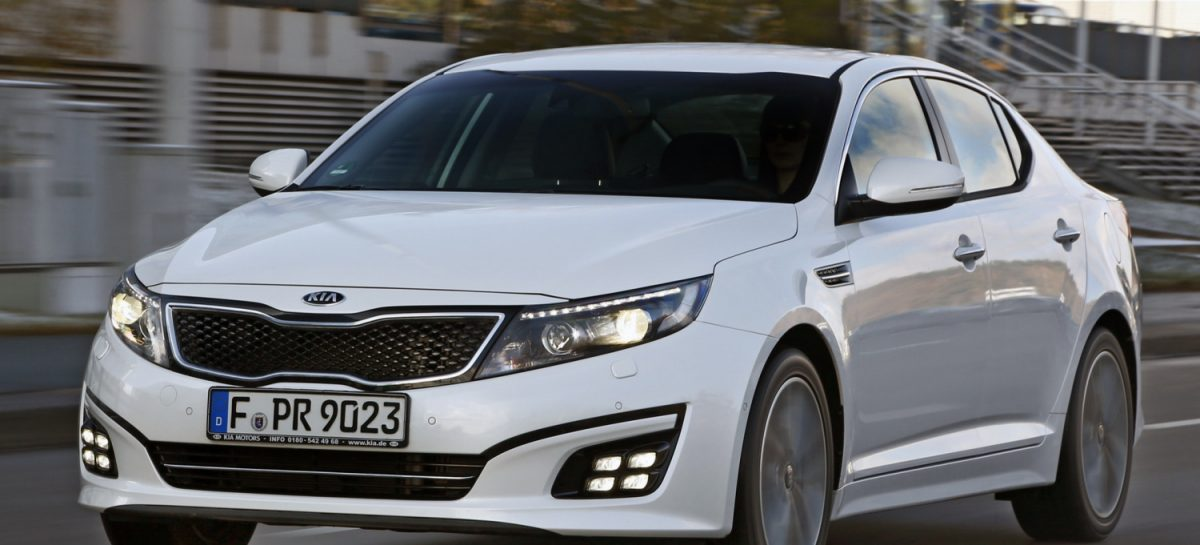 Kia Optima получила высший рейтинг в краш-тестах