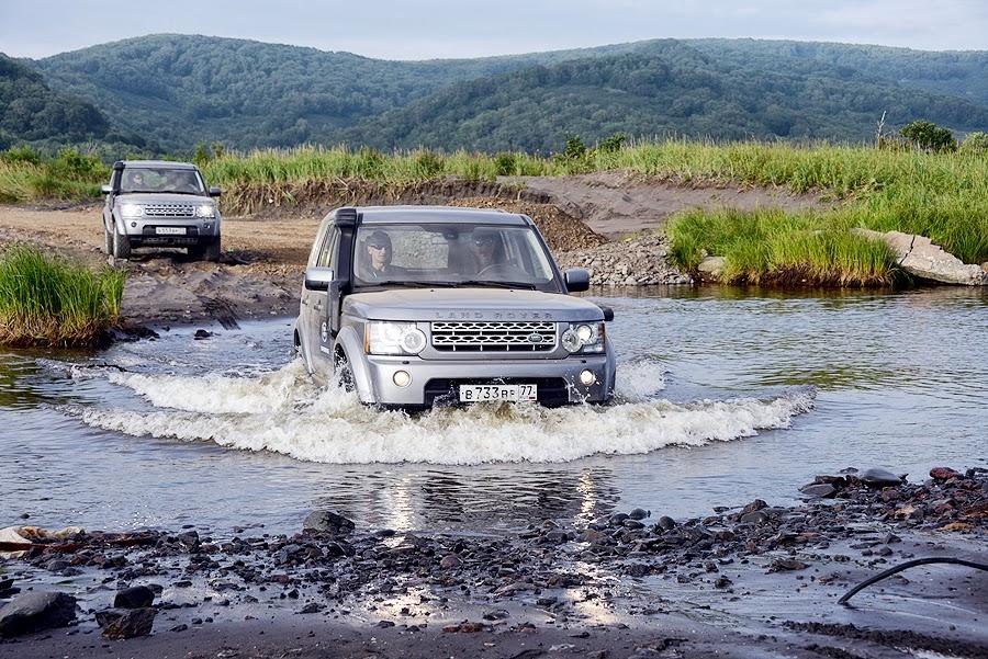 Land Rover на Камчатке