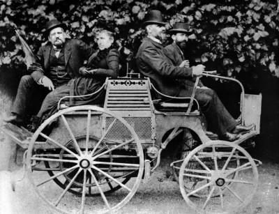 Луи Рене Панар и его автомобиль