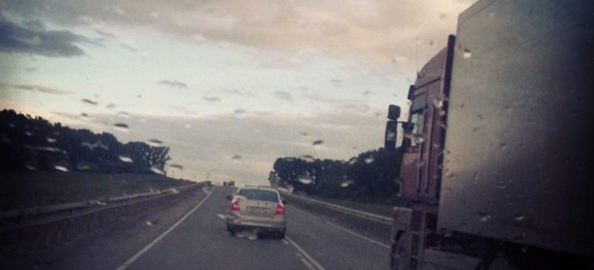 Сплошные ремонты дороги, реверсивные движения