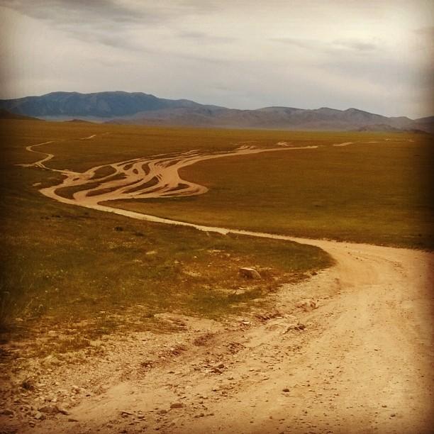 Монголия пейзаж