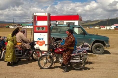 Монголия – страна байкеров