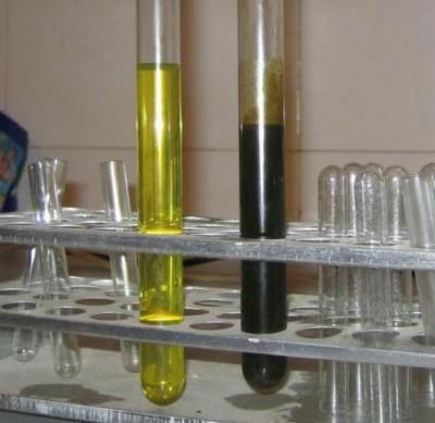 Новое и использованное масло