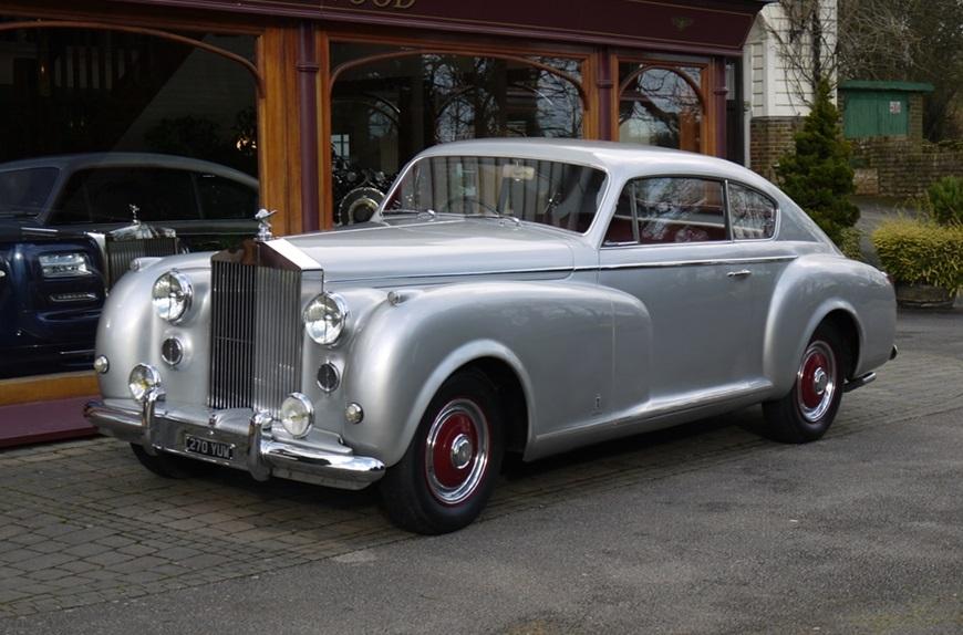 Rolls-Royce Silver Dawn Coupe 1951