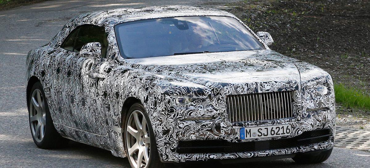 Rolls-Royce представил прототип Wraith Drophead Coupe