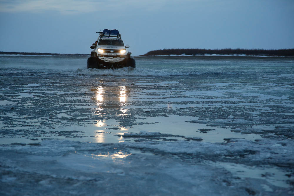 Volkswagen Amarok полярная экспедиция