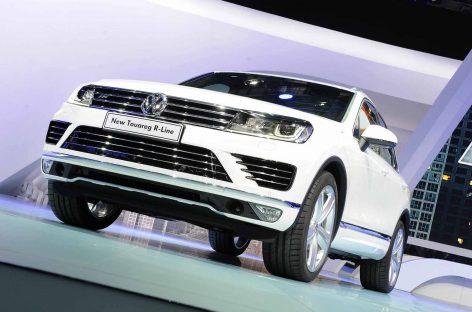 Обновленный Volkswagen Touareg поступит в продажу этой осенью
