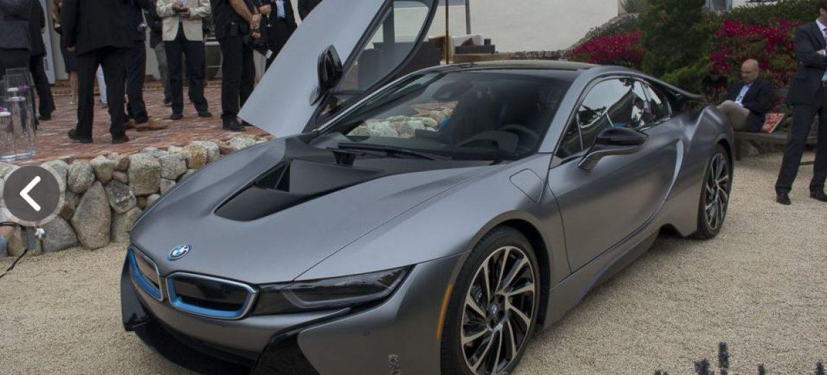 BMW i8 Concours d'Elegance: действительно уникальный гибрид