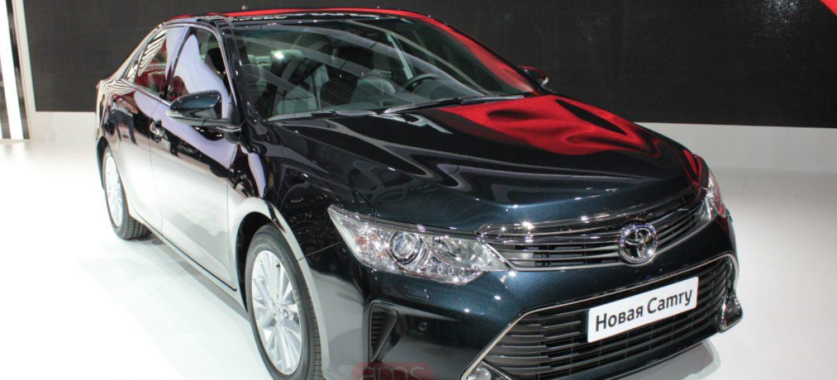 Ждите новую Toyota Camry в сентябре