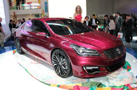 Suzuki рвется в средний класс