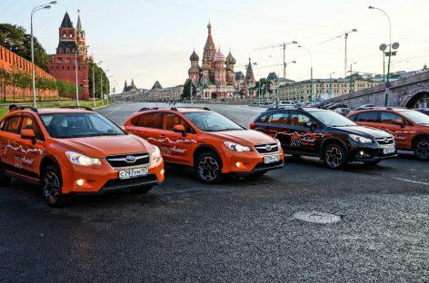 Москва – Горный Алтай на Subaru XV. В дороге. Часть 1