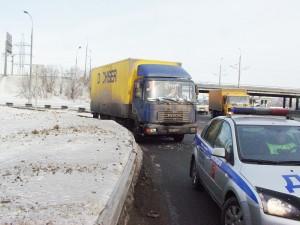 Москвич 412. Авария