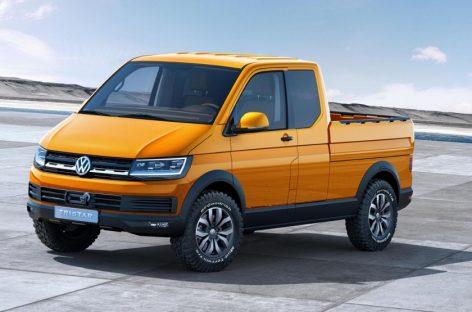 Volkswagen представила концептуальный пикап Tristar