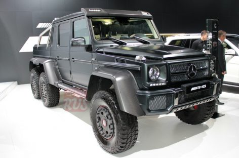 Mercedes-Benz G 63 AMG 6×6 — самый дорогой внедорожник