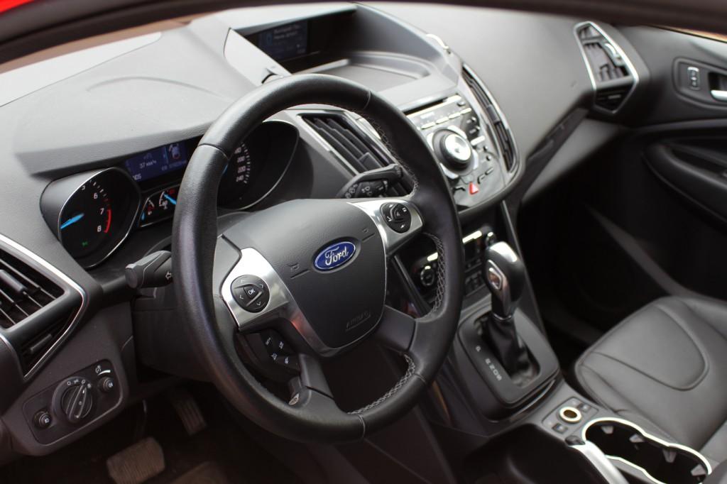 Тестдрайв Ford Kuga 2015