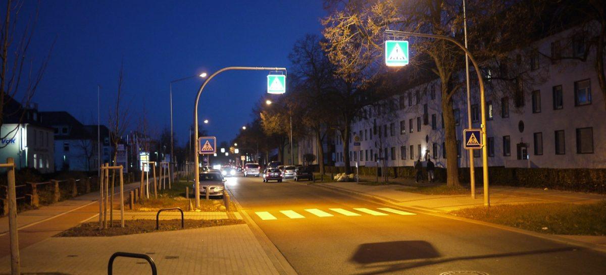 В Санкт-Петербурге уличные фонари будут включаться при появлении автомобиля