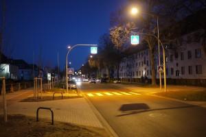 Автоматические уличные фонари