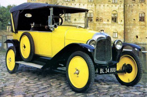 История автомобилей Citroen