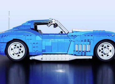Lego Ideas представляет: Corvette C3 1969 года