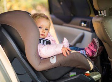 О детских автокреслах и чистоте в автомобиле