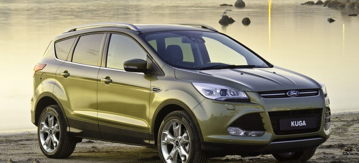 После Volvo S60 Ford Kuga может разочаровать качеством материалов интерьера и подвеской