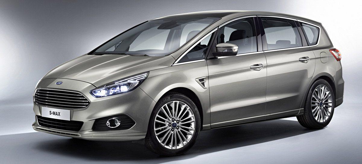 Ford представил новый семиместный Ford S-MAX 2014