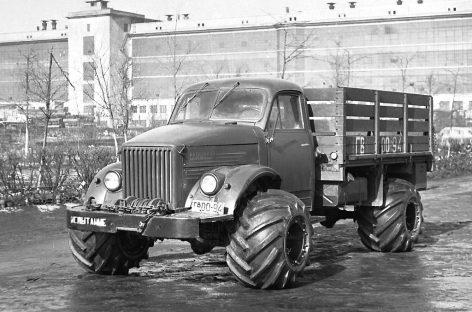 Вездеход ГАЗ-63 — гордость Горьковского автозавода