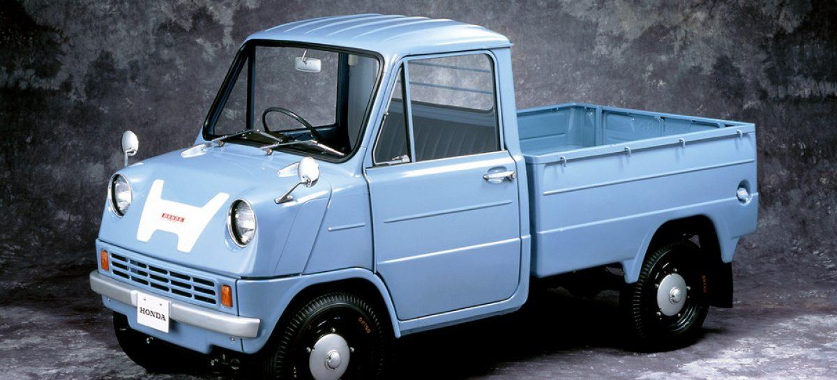 Первым автомобилем Honda стал грузовик Т-360