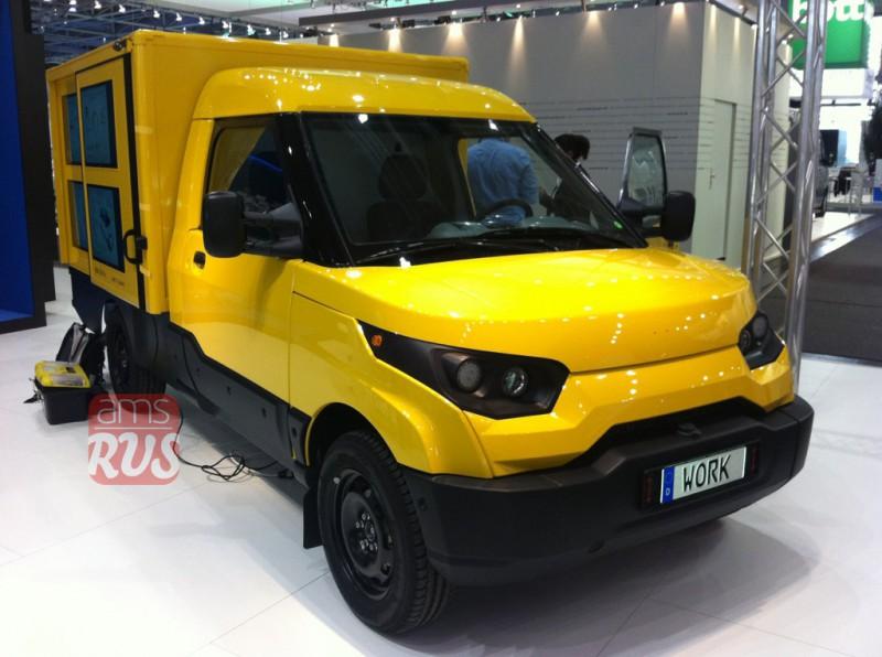 Ганноверский автомобильный салон 2014