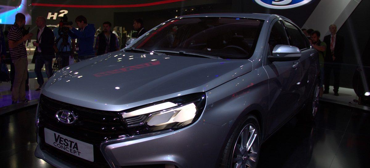 АвтоВАЗ представил в Ижевске LADA Vesta и объявил об открытии дилерского центра в Крыму
