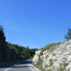 Дорога вдоль нацпарка Ловчен
