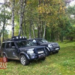По Алтаю на Land Rover Discovery