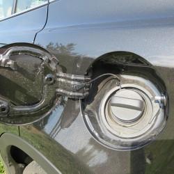 Лючок без маркировки, какой бензин хочешь, такой и лей...