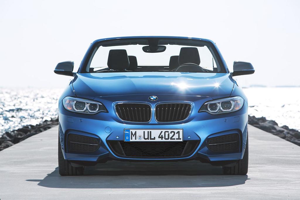 Кабриолет BMW 2-series 2015