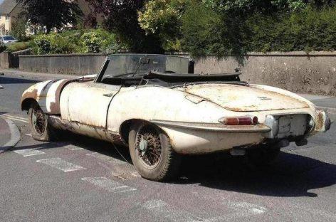 Украденный Jaguar E-Type вернулся к владельцу спустя 46 лет