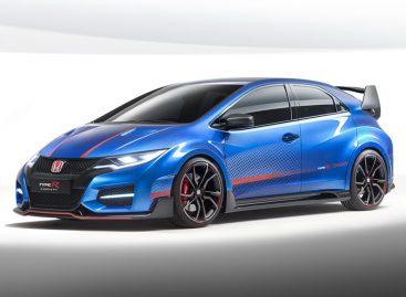 Очередной концепт Honda Civic Type R будет представлен в Париже