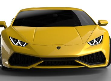 В продолжение Московского автосалона: Lamborghini Huracan