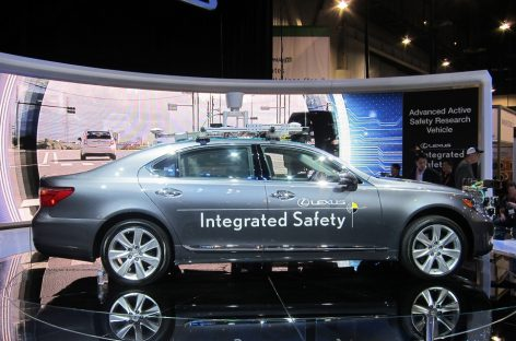 Toyota инвестирует 35 млн долл. в разработку новых технологий безопасного вождения