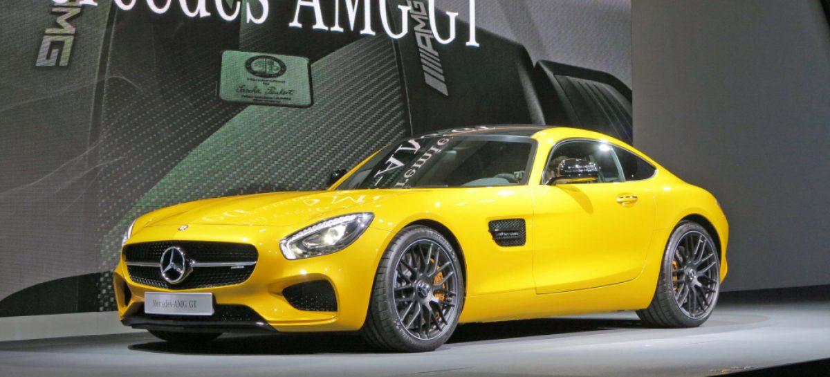 AMG GT от Mercedes-Benz – воплощение спортивного духа