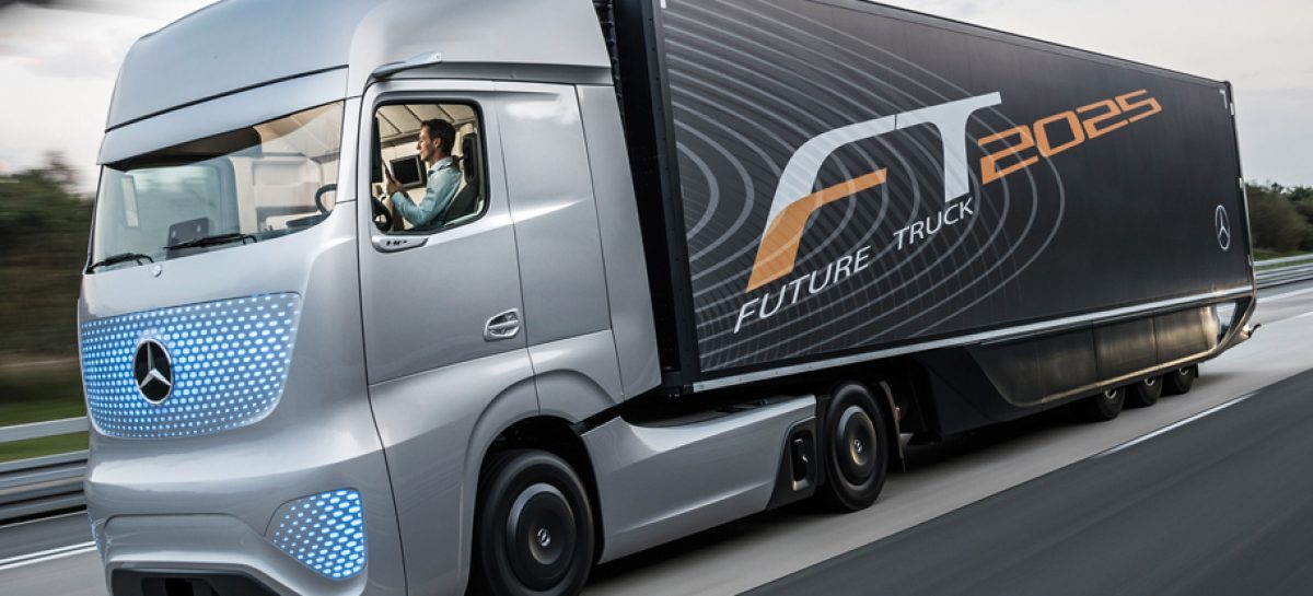 На автосалоне в Ганновере Mercedes-Benz показал автономный грузовик Future Truck 2025