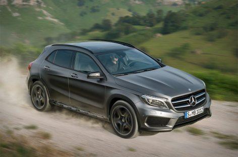 Полноприводный Mercedes-Benz GLA 2015 появится в автосалонах уже в этом месяце