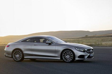 Mercedes возлагает большие надежды на купе S-class